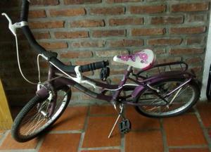 Vendo bicicleta para niña RODADO 20