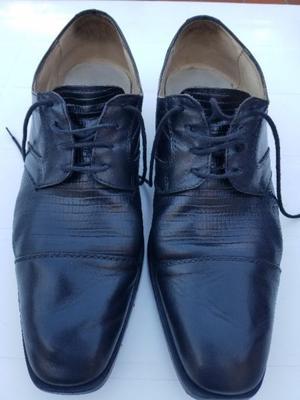 Zapatos Vestir Cuero Hombre