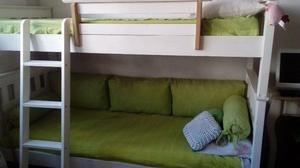 camas cuchetas con colchones