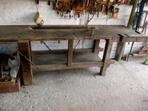 Banco de carpintero antigua