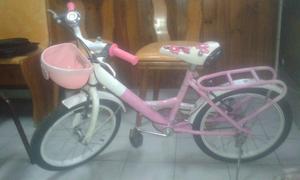 Bicicleta para nena Rodado 16