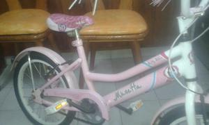 Bicicleta para nena Rodado 16 Musetta