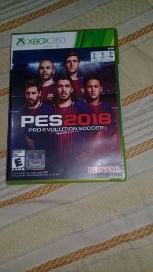 JUEGO NUEVO SIN USO PES  xbox360