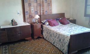 Juego de dormitorio matrimonial antiguo