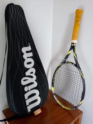 Raqueta de Tenis Wilson BLX Pro Open Poco uso