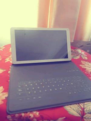 Tablet mas teclado mas funda, 10 pulgadas