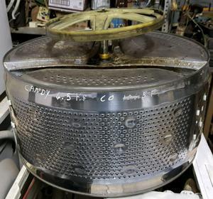 Tacho con soporte y polea de lavarropas Candy Óptima 6,5kg