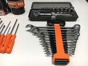 COMBO 9 destornilladores llaves tubos con crique llaves