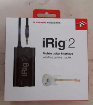 Irig 2. Ik Multimedia Para Guitarra Y Bajo. Nuevo.