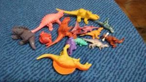Lote de dinosaurios