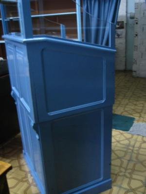 Mueble Antiguo Caja Burra Cobro P/ Registradora Ideal Resto