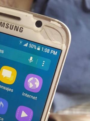 SAMSUNG GALAXY S6 FLAT BUEN ESTADO LIBRE 32GB 4G LTE