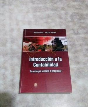 Vendo Libro de Introducción A La Contabilidad de Garcia -