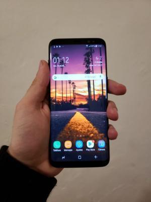 Vendo Samsung S8 IMPECABLE