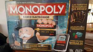 Vendo espectacular monopoly electronico nuevo en caja