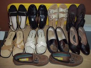 Zapatos y sandalias taco chino N* c/par