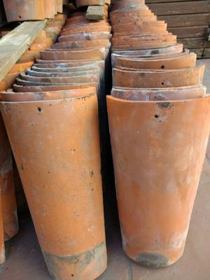 Lote de Tejas coloniales usadas, seleccionadas Alberdi y