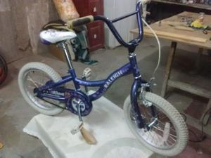 Bicicleta rodado 16 de niña.