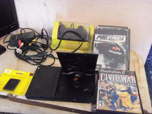 Play 2, Playstation 2, service recien hecho, 1 joystick,