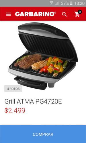 Grill eléctrico atma