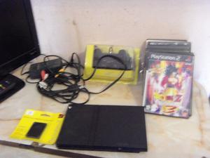 Play 2, Playstation 2, laser nuevo, joystick nuevo, juegos