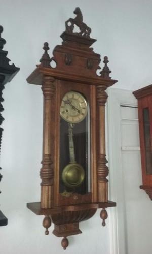 Reloj antiguo de pared junghans a pendulo