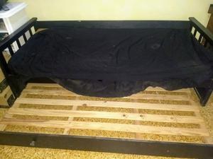 Sillón con cama carrito más 1 colchón de 1 plaza