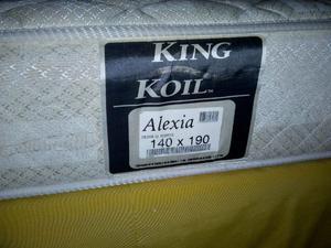 Sommier de 2 plazas king koil