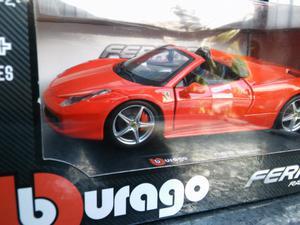 Ferrari 458 Spider Burago 1/24