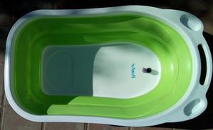 Bañera Bañadera Para Bebé Plegable Compacta Infanti