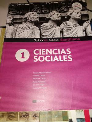 Ciencias Sociales 1 Saber Es Clave Santillana