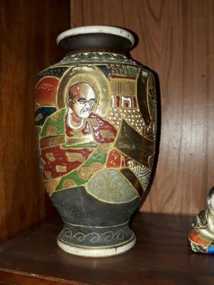 Jarrón antiguo de porcelana china