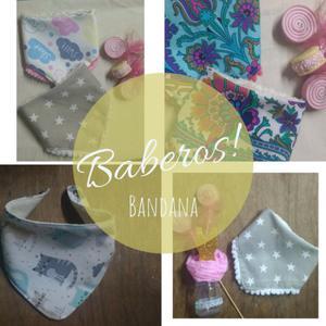 Babero bandana bebés