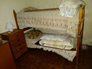 Vendo cama cucheta de pino, desmontable