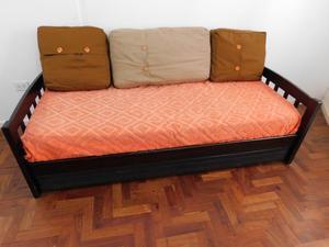 Vendo sofá cama con marinera - Excelente estado!