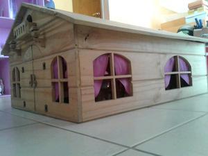 Casa de muñecas amueblada escucho ofertas