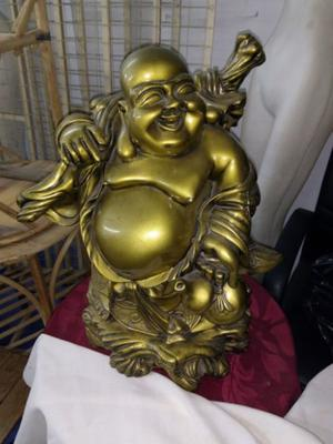 Vendo Buda dorado de metal
