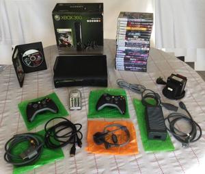 Xbox 360 Elite 250gb Special Edition+ 2 Joysticks+ 25 Juegos
