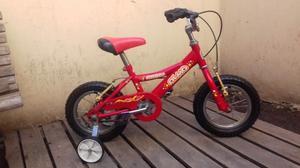 Bicicleta Olmo Rodado 12 C/rueditas Excelente Estado!