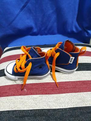 Zapatillas botitas Converse All Star de bebe nuevas sin uso