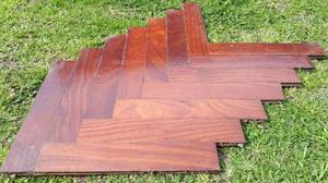 piso de parquet usado 30 cm x 5 cm x 1cm