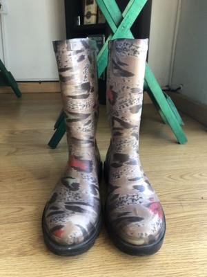 Botas de lluvia número 38
