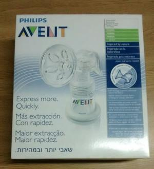 Sacaleche Manual Natural Avent Philips