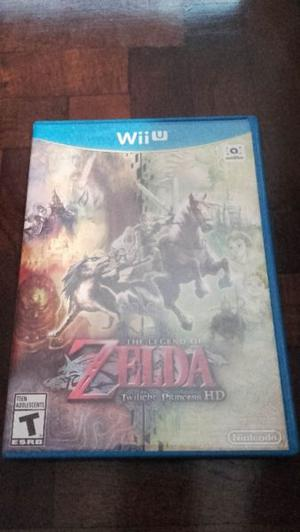 Juego The Legend of Zelda Twilight Princess HD para Wii U
