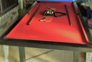 Mesa de Ping pong/pool reversible