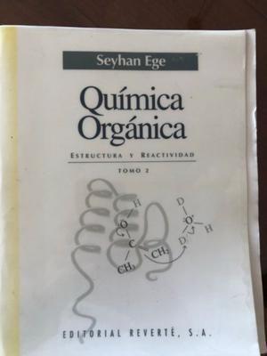 Quimica Organica - Seyhan Ege - Tomo 1 y 2
