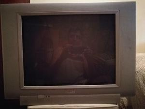"TV PHILIPS 29"" PANTALLA PLANA con muy poco uso."