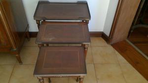 set de mesas estilo