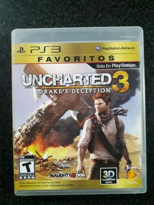 Uncharted 3 Ps3 Playstation 3 (Usado)