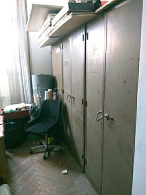 Vendo mueble metalico muy buen estado 180 x 90 x 45
